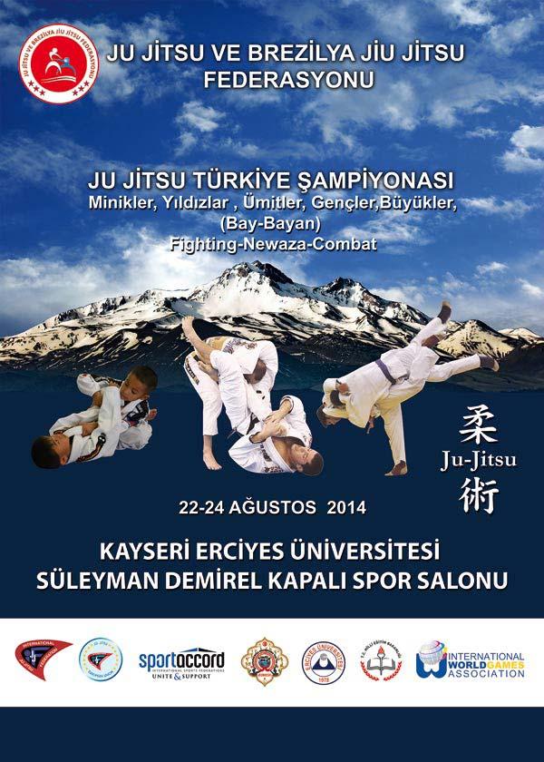 Ju Jitsu 2014 T�rkiye �ampiyonas�
